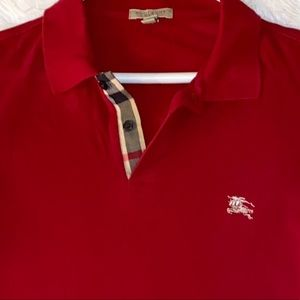 BURBERRY POLO RED